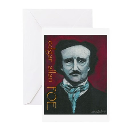 POE Greeting Cards (Pk of 10)