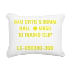 5.56 Rectangular Canvas Pillow