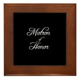 Matron Of Honor - Formal Framed Tile