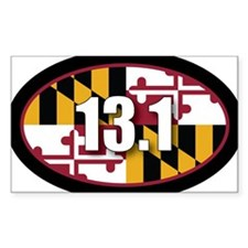 Maryland-131-OVALsticker Decal