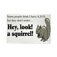 add squirell Rectangle Magnet