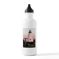 Light at sunrise Water Bottle