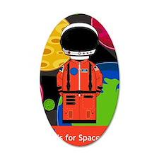 Spaceman in Helmet Wall Decal