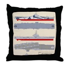 Essex-Yorktown-T-Shirt_Back Throw Pillow