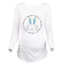 hoppy_easter Long Sleeve Maternity T-Shirt