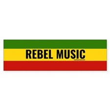 Rasta Rebel Music Bumper Bumper Sticker
