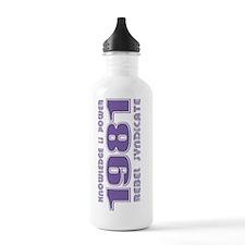 Vintage-03a Water Bottle