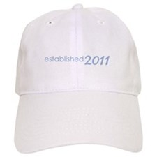 daddy established 2011_dark Baseball Cap