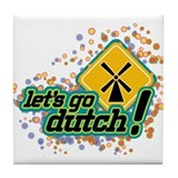 Cute Dutch Tile Coaster