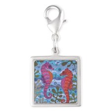 Small Wonders Silver Square Charm