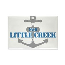 VA Little Creek 2 Rectangle Magnet
