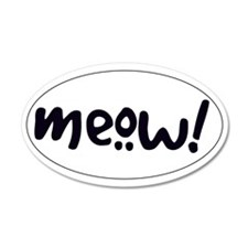 meow Wall Decal