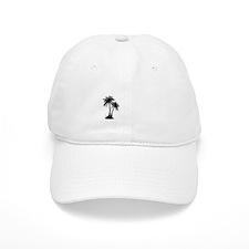 LostPalmTree Blk Baseball Cap