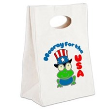 frog-USA Canvas Lunch Tote