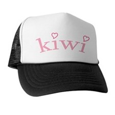 """Kiwi with Hearts"" Trucker Hat"
