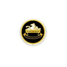 8th-Cavalry-round-charm Mini Button