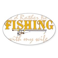 fishingwife2 Bumper Stickers