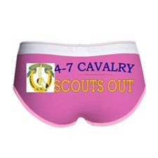 4th Squadron 7th Cavalry bs4 Women's Boy Brief