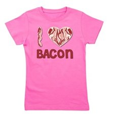 I love Bacon Girl's Tee