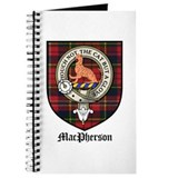 MacPherson Clan Crest Tartan Journal