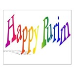 Happy Purim Small Poster