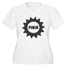 fixie_cog_GREYbac T-Shirt