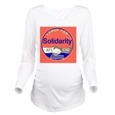 Solidarity Long Sleeve Maternity T-Shirt