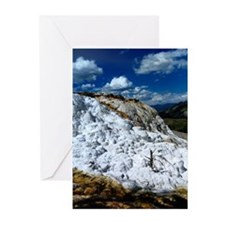 Mammoth Hot Springs Greeting Cards (Pk of 10)
