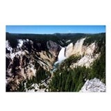 Grand Canyon of Yellowstone Postcards (Package of