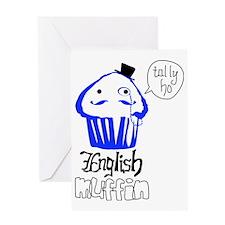 English Muffin Greeting Card