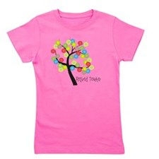 Retired Teacher Tree bubbles Girl's Tee