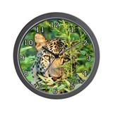 Cheetaro The Leopard Wall Clock