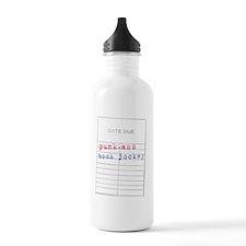 Punk-Ass Book Jockey-l Water Bottle