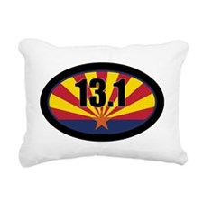 AZ-131-OVALsticker Rectangular Canvas Pillow