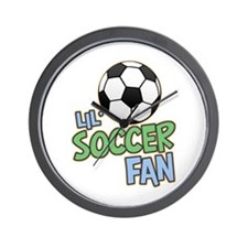 Lil' Soccer Fan Wall Clock