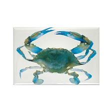 bluecrab Rectangle Magnet