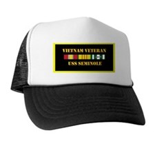 uss-seminole-vietnam-veteran-lp Trucker Hat