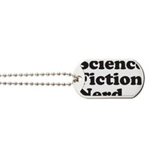 sciencefictionnerdblack Dog Tags