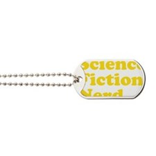 sciencefictionnerdyellow Dog Tags