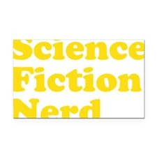 sciencefictionnerdyellow Rectangle Car Magnet
