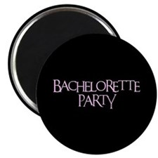 "Bachelorette Party - Funky Pi 2.25"" Magnet (100 pa"