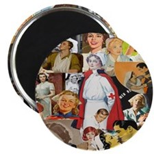 nurse collage pillow Magnet