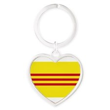 South-Vietnam-Dark Heart Keychain