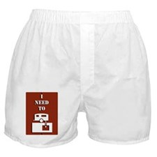 INeed2Dump Boxer Shorts