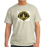 Plumas Sheriff Ash Grey T-Shirt