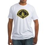 Plumas Sheriff Fitted T-Shirt