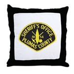 Plumas Sheriff Throw Pillow