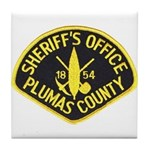 Plumas Sheriff Tile Coaster