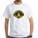 Plumas Sheriff White T-Shirt