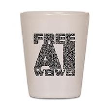 Free Ai Weiwei Shot Glass